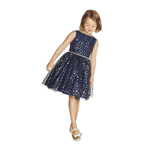 Lainey Navy Star Dress