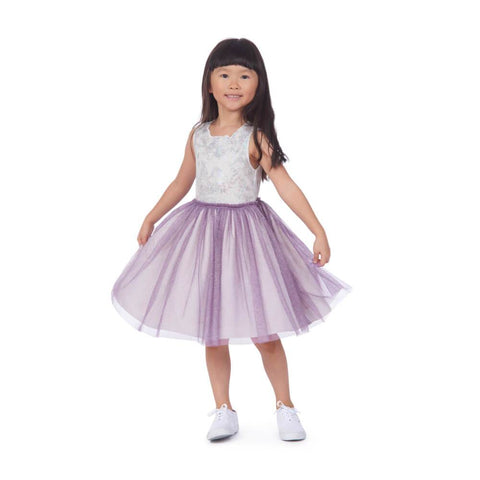 Luciana Purple Tutu Dress