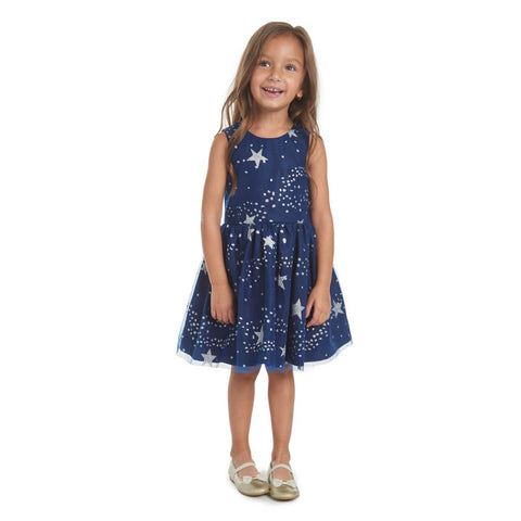 Lucy Navy Star Dress