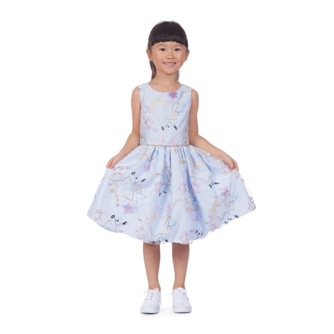 Lucy Star Embroidered Dress