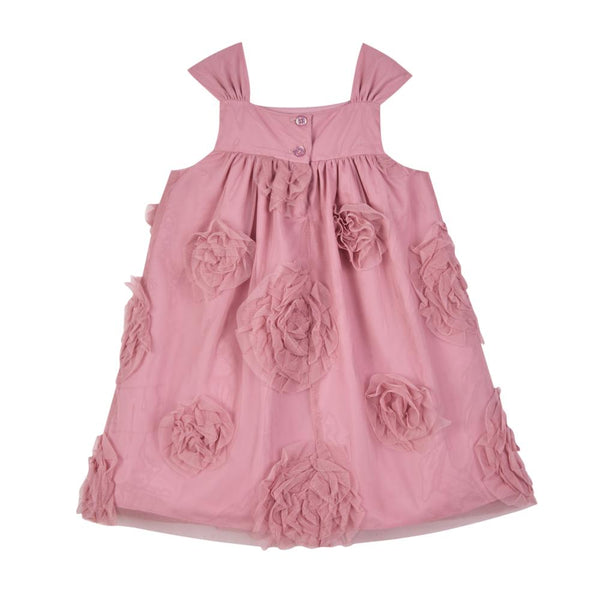 Dress - May Dusty Rose Swing Dress