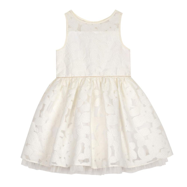 Dress - Mia White Floral Dress