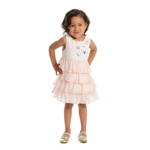 Mylah Blush Tiered Dress