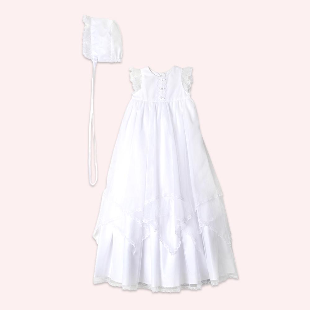 choose best hot-selling authentic classic Nunu Christening Gown