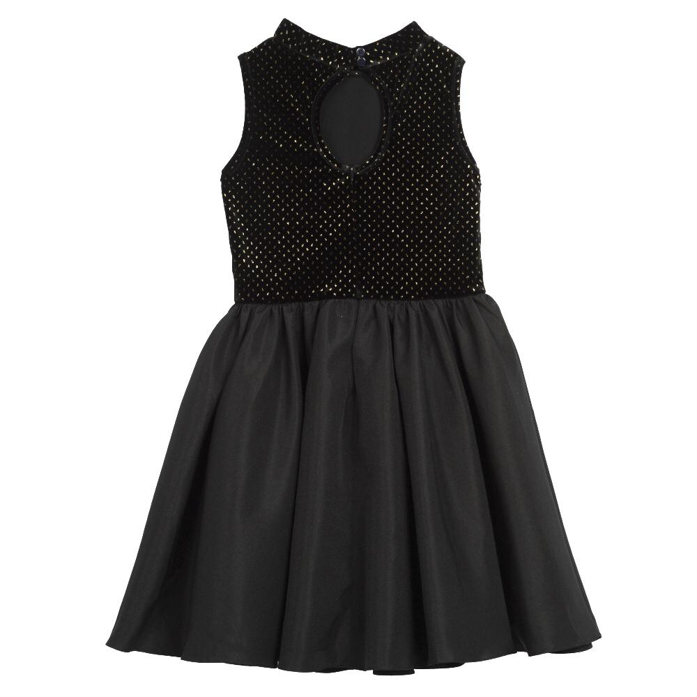Dress - Roxanne Black Velvet Dress