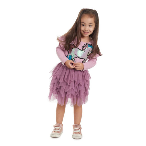 Rylee Unicorn Tutu Skirt Set