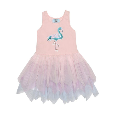 Sydney Flamingo Tutu Dress