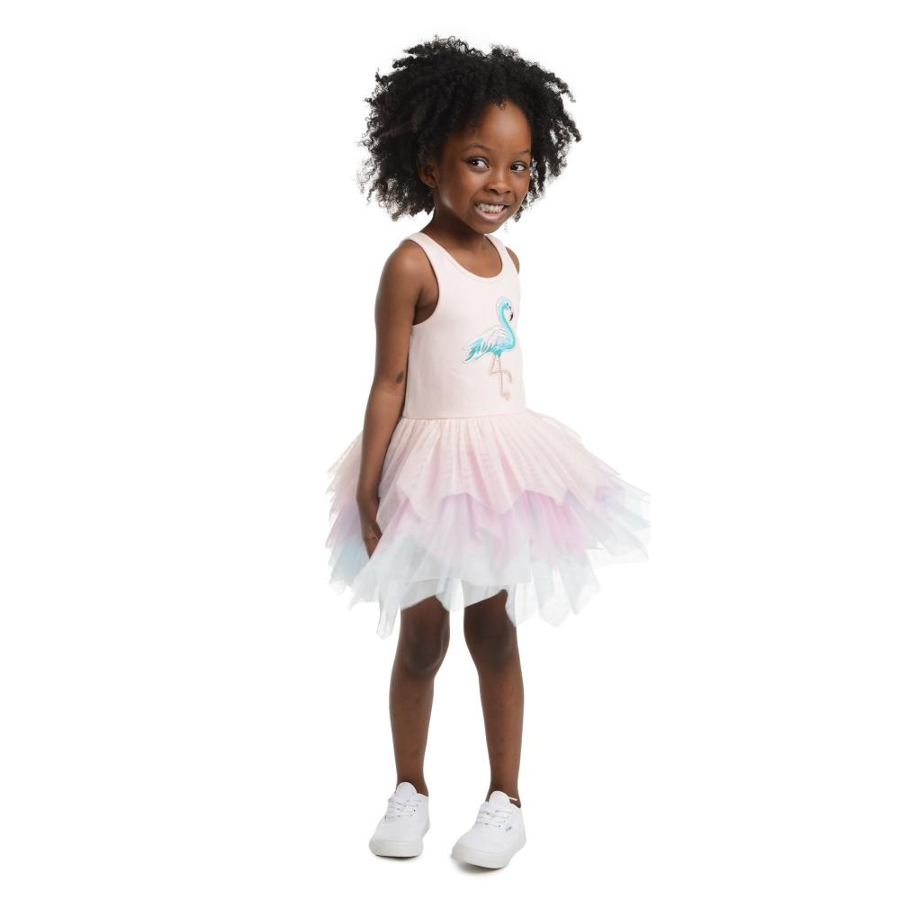 Dress - Sydney Flamingo Tutu Dress