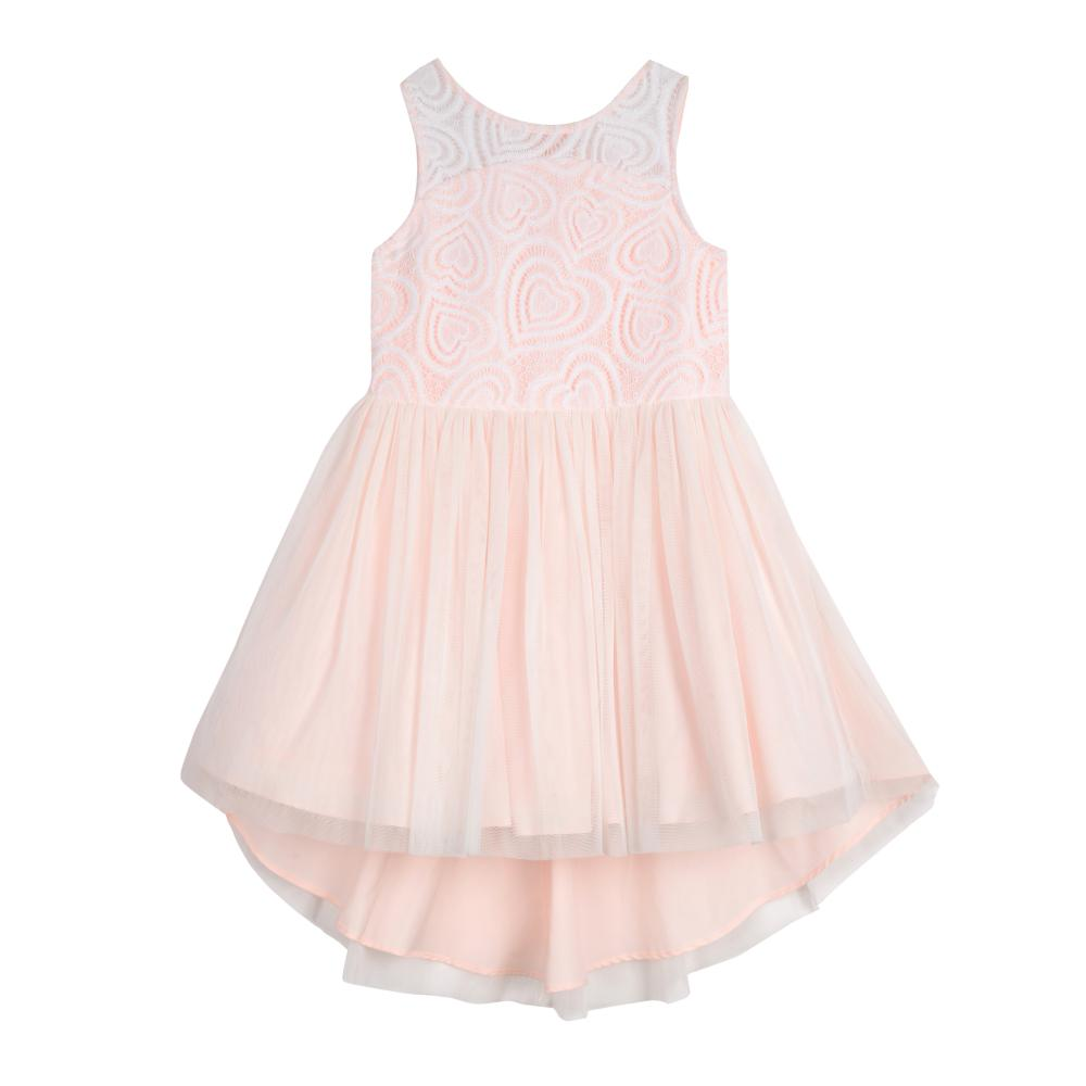 Dress - Tabitha Pink Heart Dress