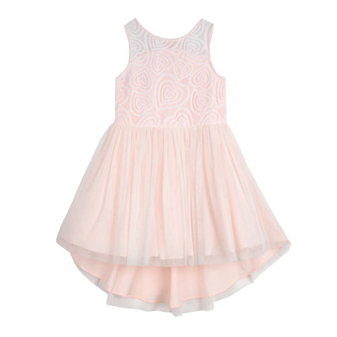 Tabitha Pink Heart Dress