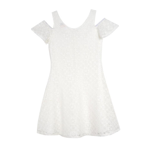 Tindra White Lace Dress