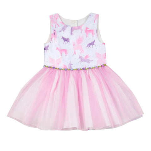 Toni Unicorn Tutu Dress