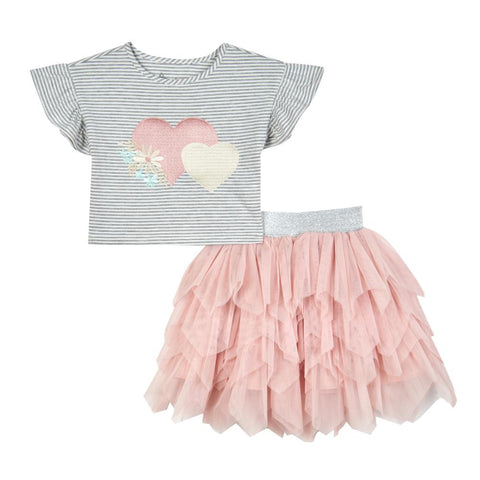 Alinea Heart Tutu Set