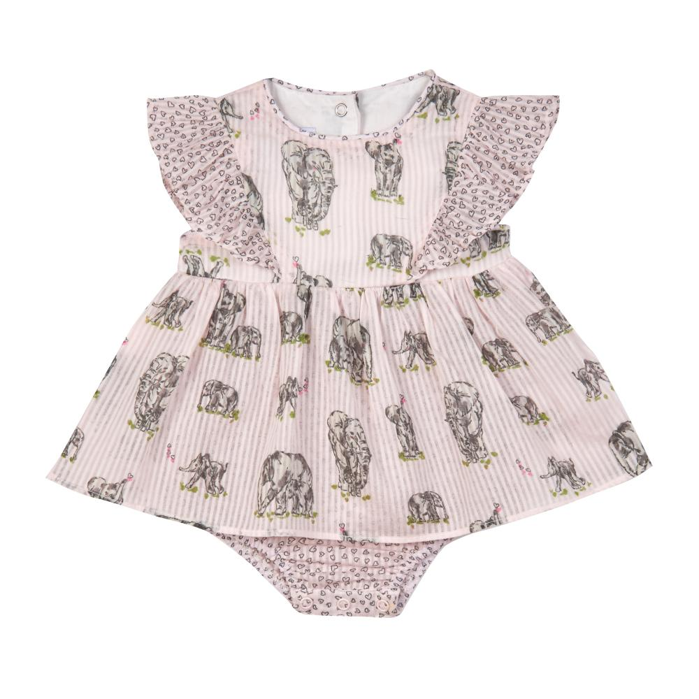 Outfit - Chandra Elephant Print Romper