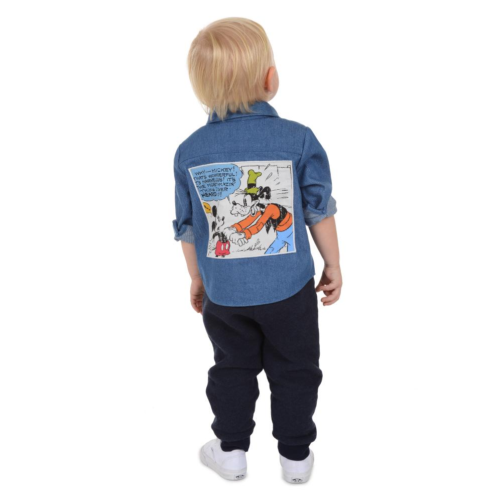 Outfit - Disney X Little Brother Goofy Shirt Set