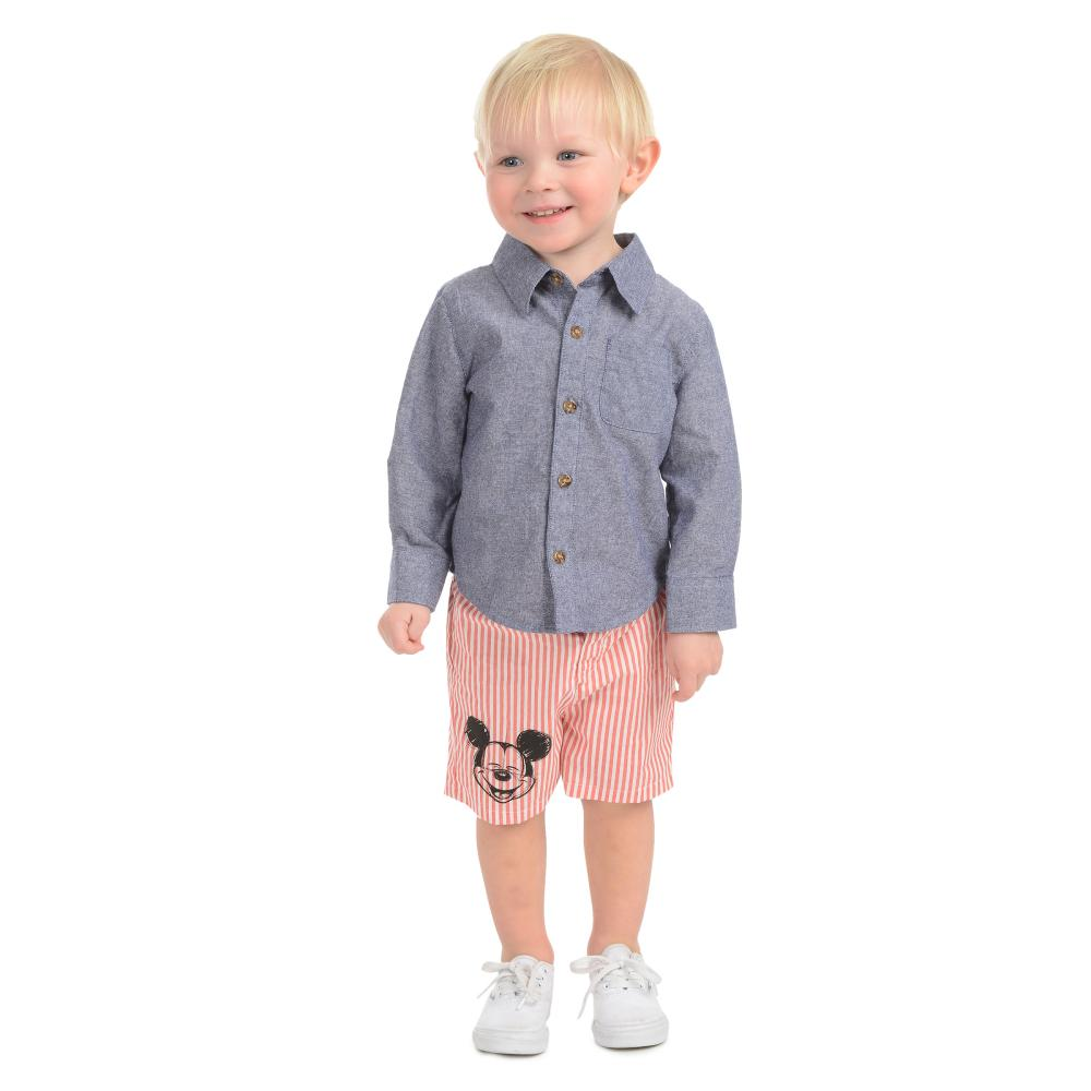 Outfit - Disney X Little Brother Mickey Short Set