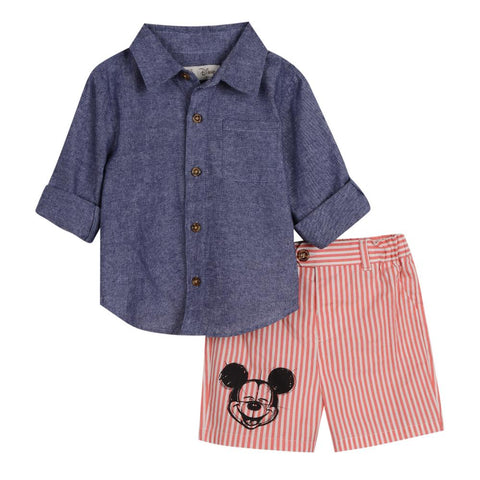Disney X Little Brother Mickey Short Set
