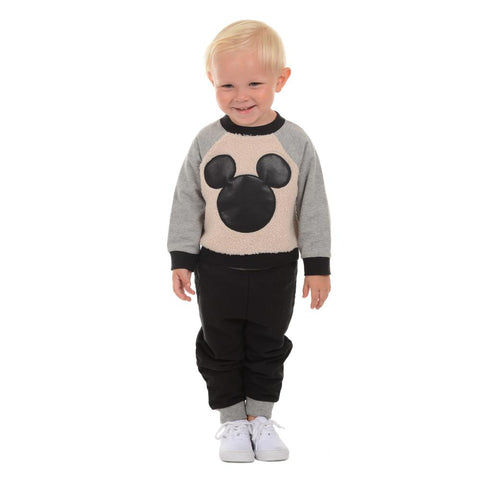 Disney X Little Brother Mickey Sweater Set