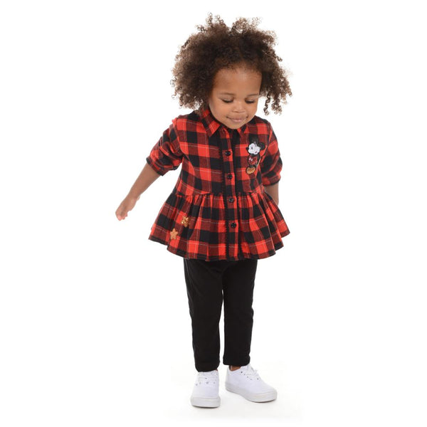 Outfit - Disney X Pippa & Julie Mickey Plaid Set