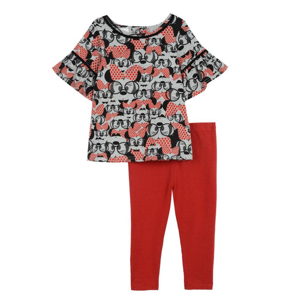 Outfit - Disney X Pippa & Julie Minnie Legging Set