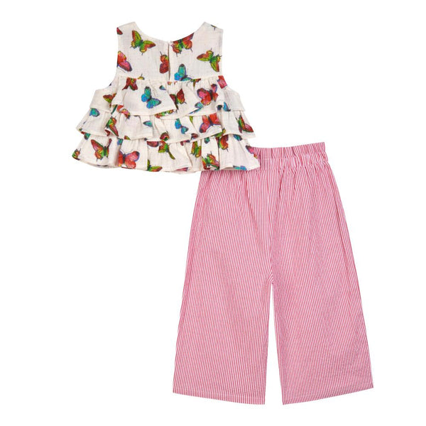 Outfit - Juliana Butterfly Gaucho Set