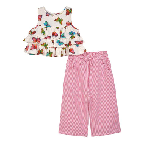 Juliana Butterfly Gaucho Set