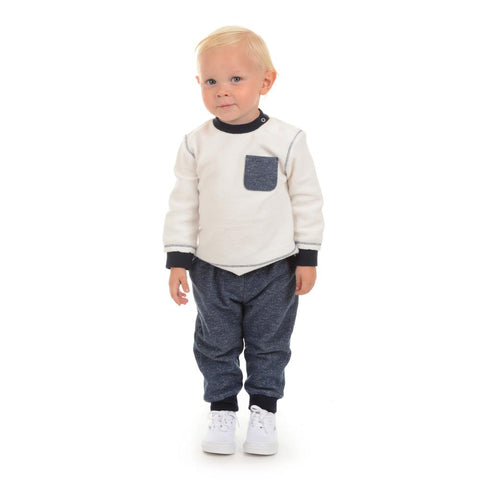 Little Brother Dylan Fleece and Jogger Set