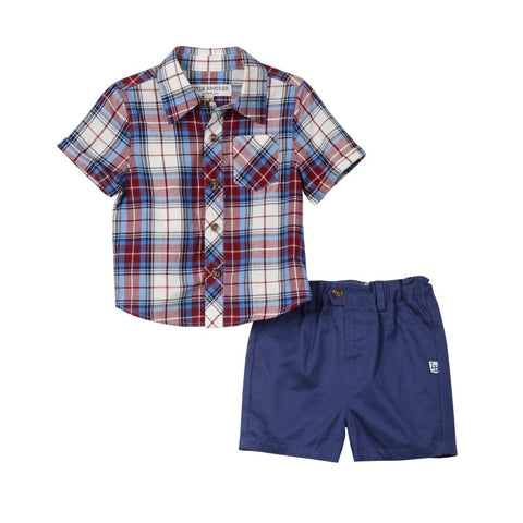 Little Brother Pat 3-Piece Short Set