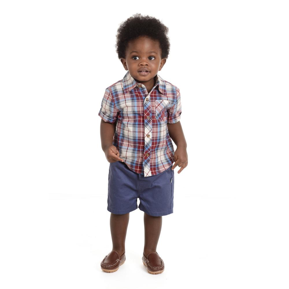 Outfit - Little Brother Pat 3-Piece Short Set