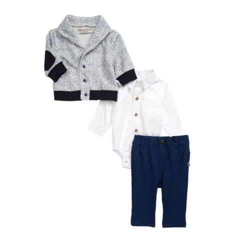Little Brother Richard Sweater Pant Set