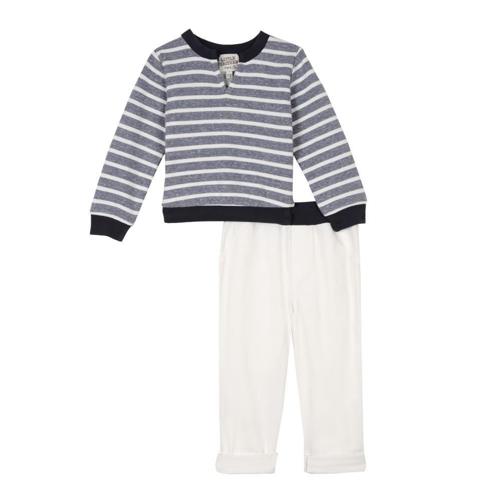 Outfit - Little Brother Wyatt Sweatshirt Set
