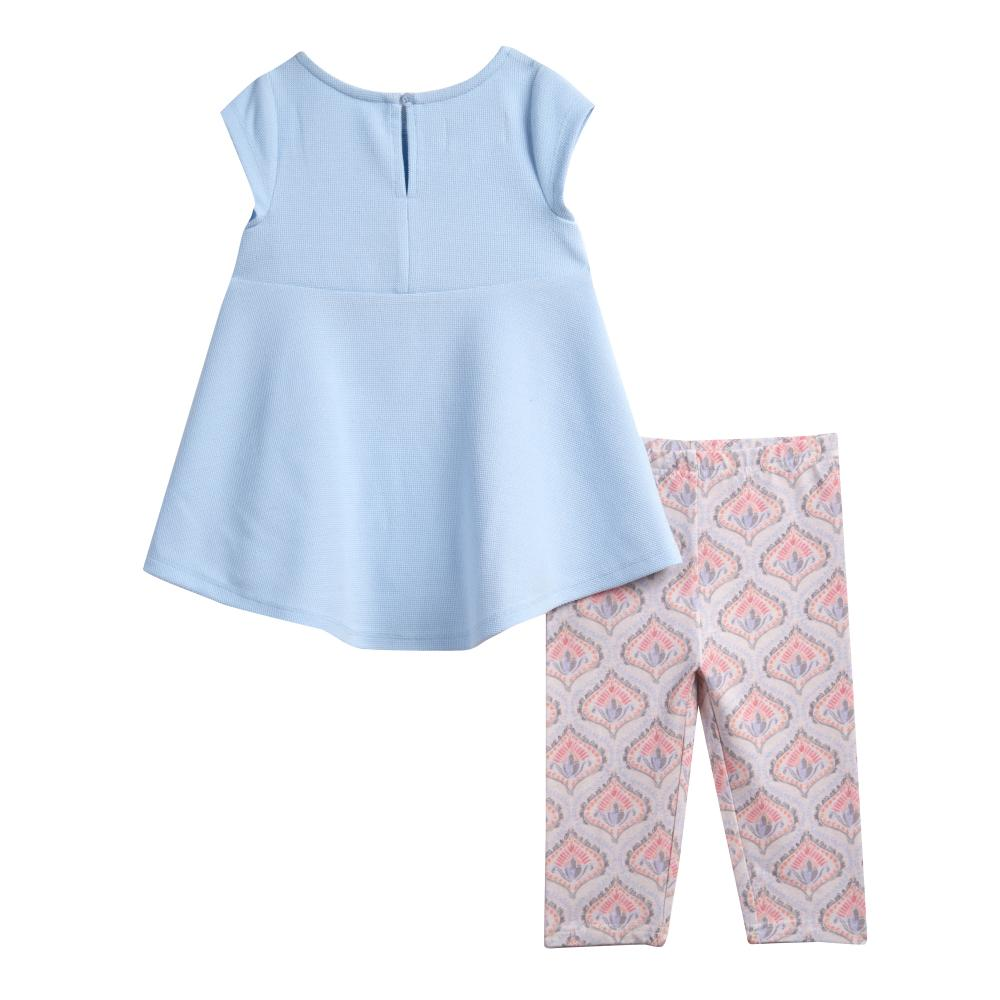 Outfit - Lynn Blue Star Capri Set