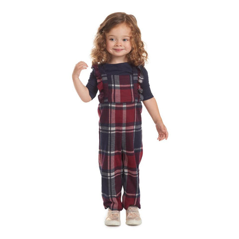 Vivian Plaid Jumpsuit