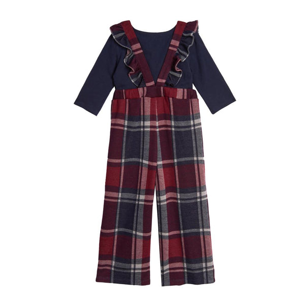 Outfit - Vivian Plaid Jumpsuit