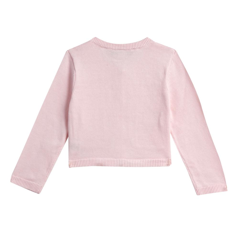 Separate - Kimmy Pink Bow Pocket Cardigan