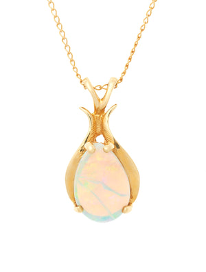 Opal and Gold Pendant
