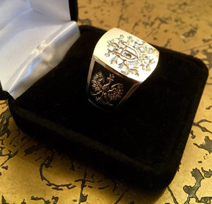 Men's St. John Cantius Signet Ring