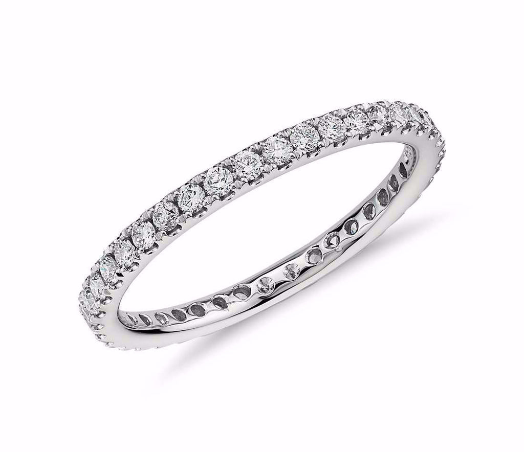 Pave Diamond Eternity Band