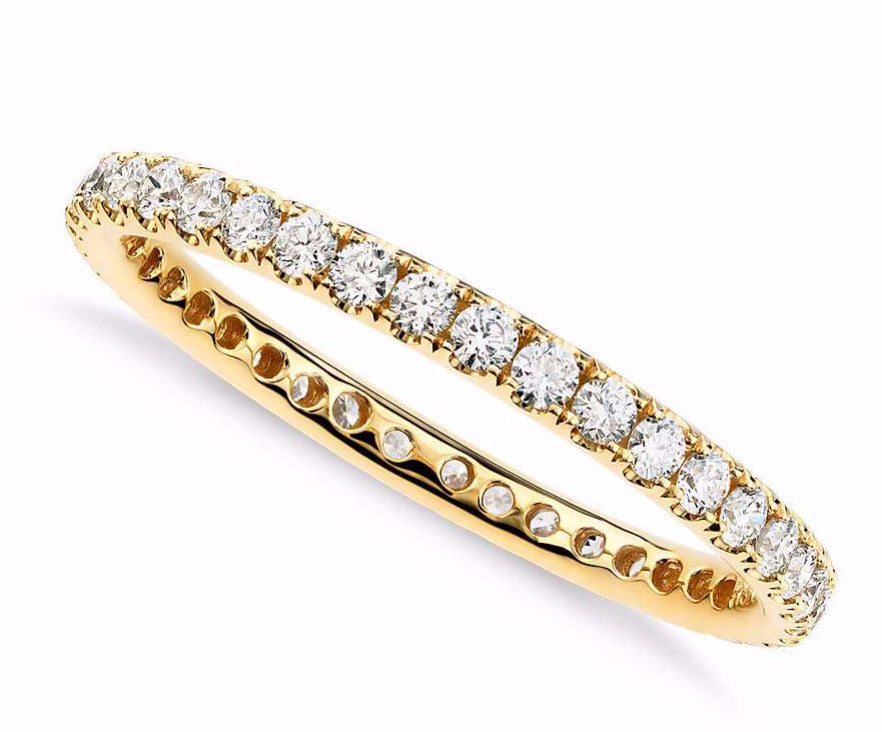 Pave Diamond Eternity Ring