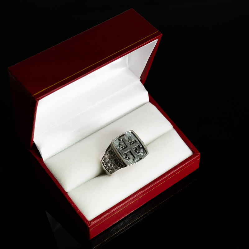Jerusalem Cross Ring-Knight of Holy Sepulchre Ring