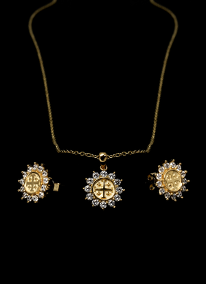 Jerusalem Pendant & Earrings Package