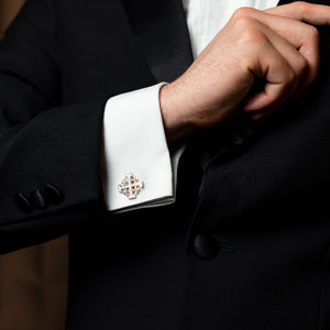 Jerusalem Cross Cuff links