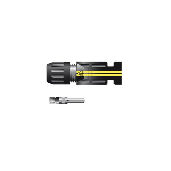 SOLINQ SILVERLINE Connector 4-6mm - Male