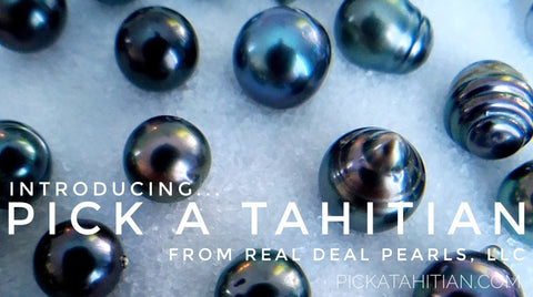 Pick a Tahitian! | Loose Cultured Tahitian Pearl