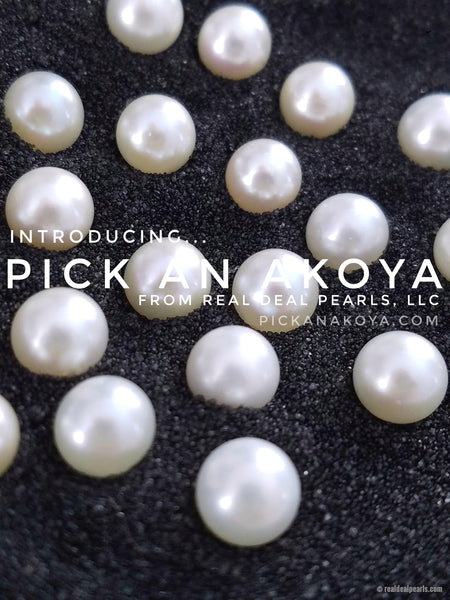 Pick an Akoya! | Loose Cultured Akoya Pearl