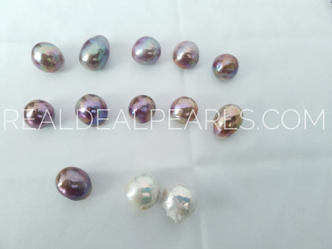 'Vibrant Bead Nucleated' Mounted Cultured Freshwater Pearls