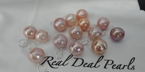 Edison-Like Cultured Freshwater Pearl Charm