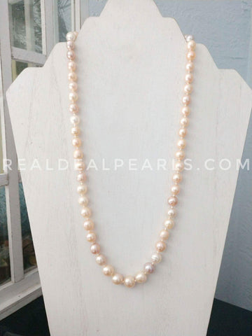Hand Knotted Necklace | Includes 3 Monster Oysters
