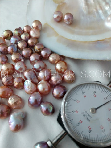 Pick a 9-11MM Metallic Ripple! | Loose Cultured Freshwater Ripple Pearl
