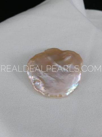 30x28mm Cultured Freshwater Coin Pearl